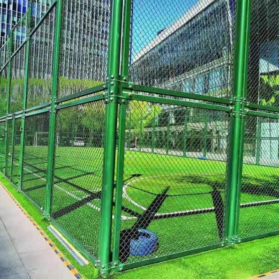 西安体育围栏网 篮球场防护网 足球