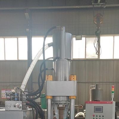 河南鑫源液压全自动铝屑压块机金属