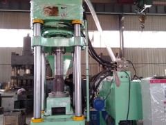 环保型全自动铁屑压块机Y鑫源高密度压饼机厂家